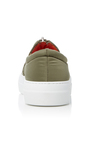 Low Military Bomber Sneakers by JOSHUA SANDERS Now Available on Moda Operandi