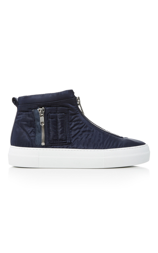 Military Bomber Sneakers by JOSHUA SANDERS Now Available on Moda Operandi