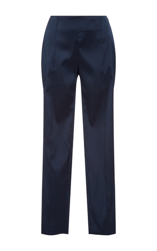 Medium sachin babi navy midnight margaret jacquard pant