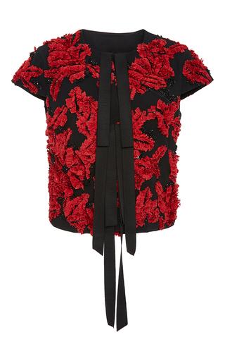 Medium sachin babi floral dixie embroidered jacket