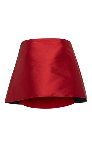 Medium sachin babi red irene layered top