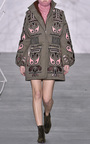 Cathy Fur Lined Coat by HOLLY FULTON Now Available on Moda Operandi