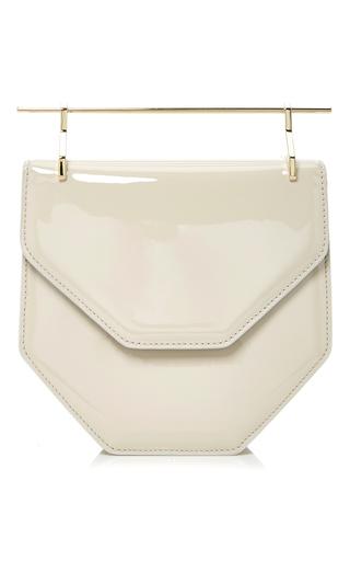 Medium m2malletier light grey amorfati cross body bag