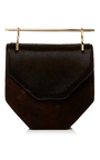 Amor/Fati Pony Double Handle Cross Body Bag by M2MALLETIER Now Available on Moda Operandi