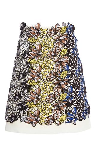 Medium giambattista valli floral floral applique skirt