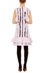 Ruffle And Lace Shift Dress by GIAMBATTISTA VALLI Now Available on Moda Operandi