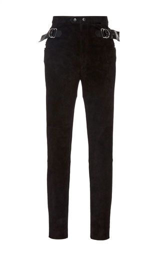 Medium isabel marant black gabe high waist trouser