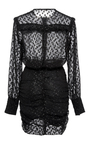 Adriana Long Sleeve Mini Dress by ISABEL MARANT Now Available on Moda Operandi
