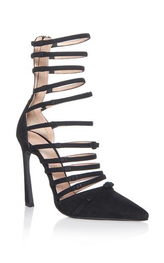 Medium giambattista valli black multi strap sandals