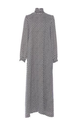 Medium vanessa seward print claudia high neck dress