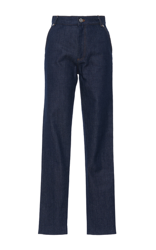 Medium vanessa seward dark wash victoire high waist jean