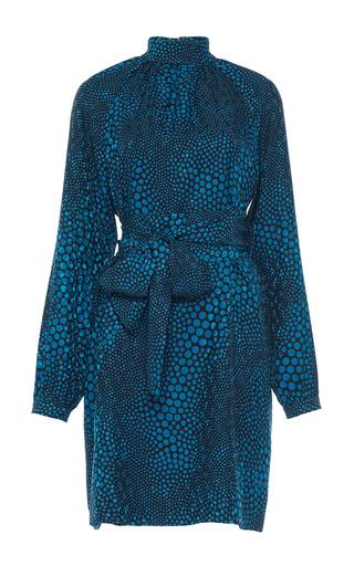 Medium vanessa seward print cecily belted raglan dress  2