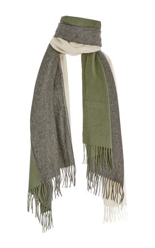 Medium donni charm dark grey donnie trio scarf