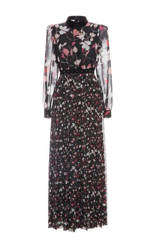 Medium giamba floral long sleeve floral dress