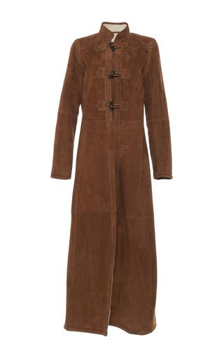 Medium vanessa seward tan cristobal shearling coat