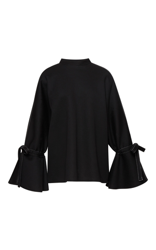 Medium beaufille black campo oversized sweater