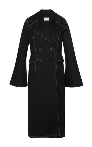 Medium beaufille black lynx tailored coat