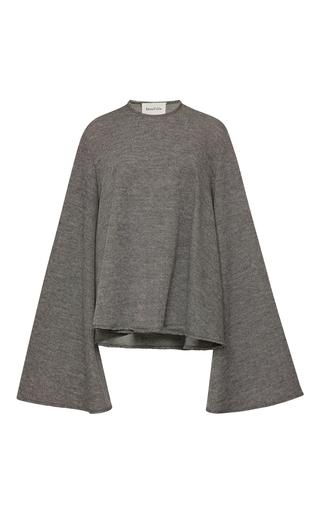 Medium beaufille light grey calypso flared sweater