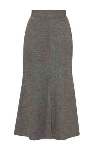 Medium beaufille light grey deimos flared skirt