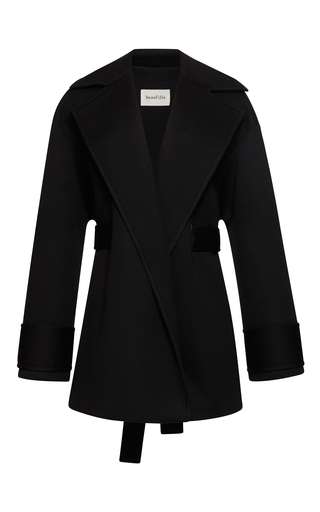 Medium beaufille black phoenix oversized coat