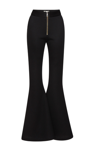 Medium beaufille black lyra flare trouser