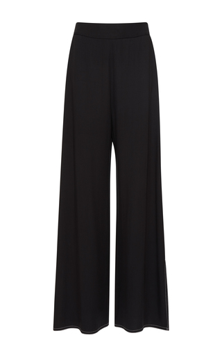 Medium beaufille black ursa wide leg trouser