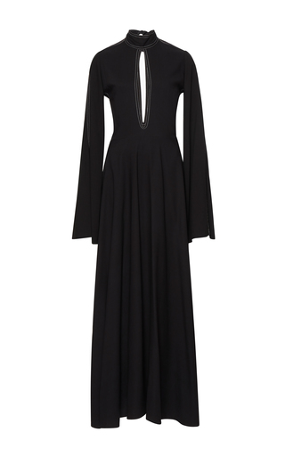 Medium beaufille black odas fit and flare dress