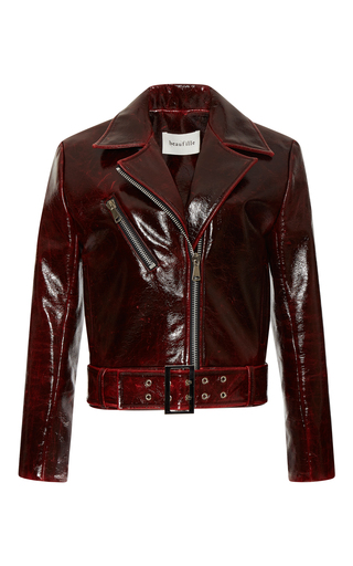 Medium beaufille red coma tailored jacket