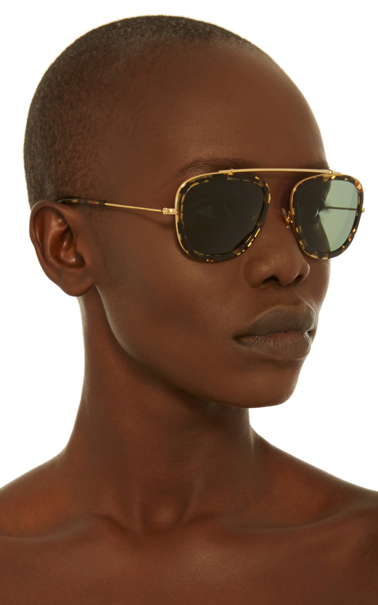 ff83390e2ac Huey Zulu Square-Frame Acetate and Metal Sunglasses by Krewe