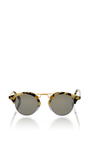 St Louis Two Tone Sunglasses by KREWE Now Available on Moda Operandi
