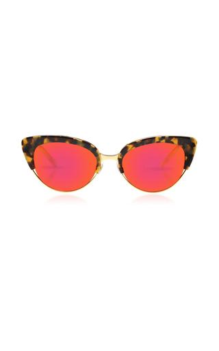 Medium krewe pink josephine tortoise shell sunglasses