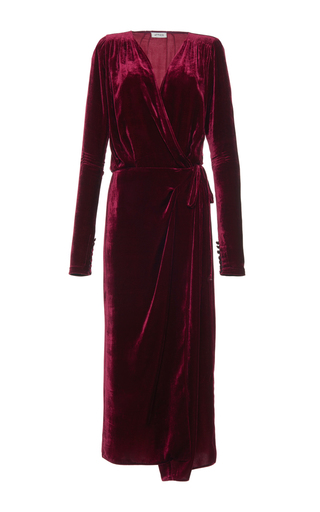 Jane Long Velvet Dressing Gown By Attico Moda Operandi
