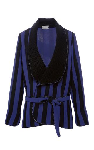 Medium alexis mabille stripe striped tuxedo jacket