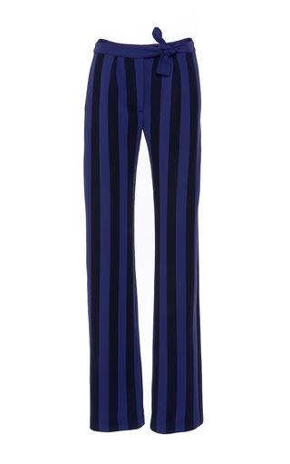Medium alexis mabille stripe wool striped smoking trousers