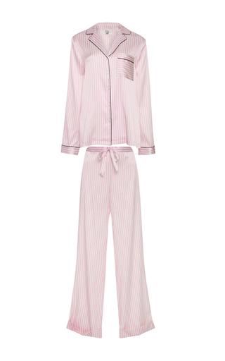 Medium yolke pink classic pajama set