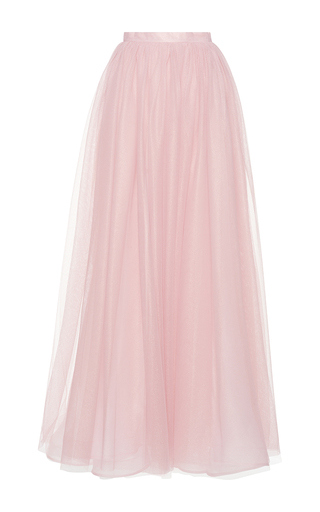 Medium costarellos pink long tulle ball skirt