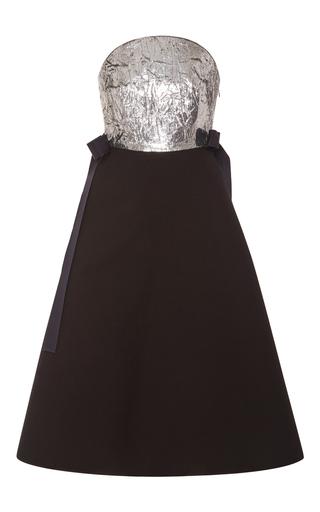 Medium delpozo black sleeveless sequin dress