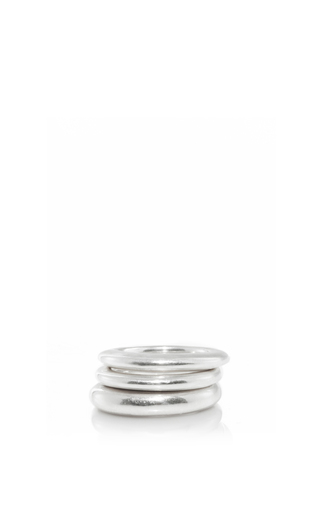 Medium sophie buhai silver stacking rings 1