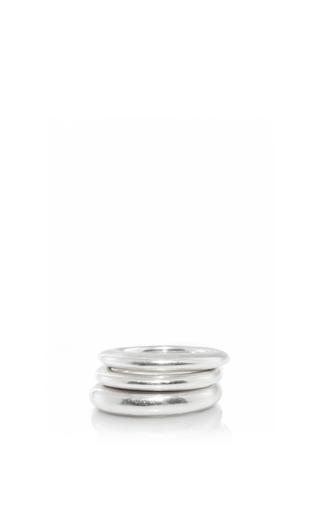 Medium sophie buhai silver stacking rings 1