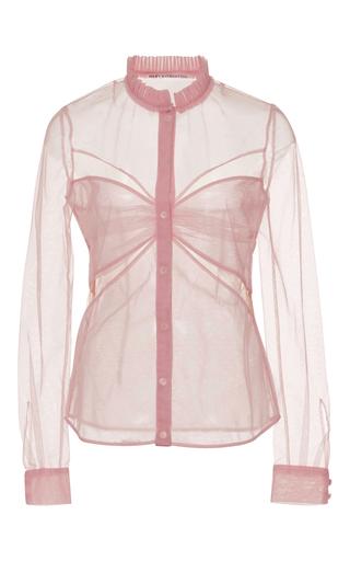 Fosse Sheer Blouse by MARY KATRANTZOU Now Available on Moda Operandi