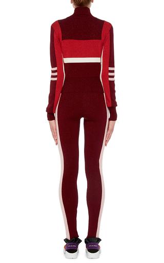 Tuxedo Stripe Leggings  by EMILIO PUCCI Now Available on Moda Operandi