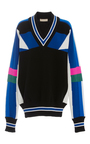 Knit V Neck Dress  by EMILIO PUCCI Now Available on Moda Operandi