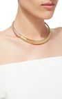 Silver And Gold Boi Necklace by CHARLOTTE CHESNAIS Now Available on Moda Operandi