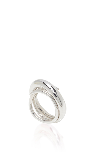 Silver Hurly Burly Ring by CHARLOTTE CHESNAIS Now Available on Moda Operandi