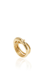 Gold Hurly Burly Ring by CHARLOTTE CHESNAIS Now Available on Moda Operandi