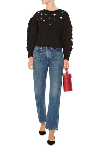 Crespino Jeweled Sweater by VIVETTA Now Available on Moda Operandi