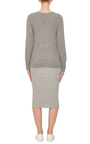 Ribbed Midi Skirt by JAMES PERSE Now Available on Moda Operandi