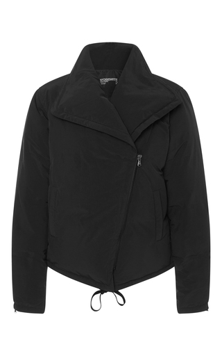 Medium james perse black down motorcycle jacket