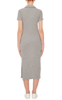 Collard Midi Dress by JAMES PERSE Now Available on Moda Operandi