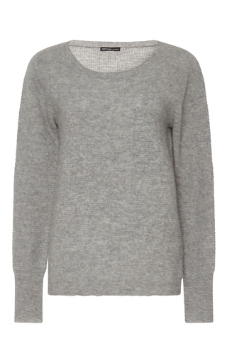 Medium james perse light grey cashmere pullover sweater